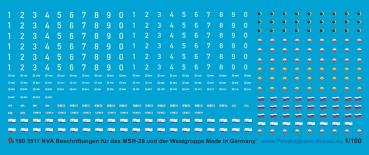 Peddinghaus 1//100 3471 Bundeswehr Standart Bogen Team Yankee