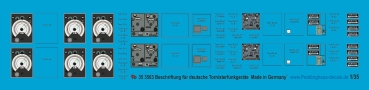 Peddinghaus-Decals 1/35 3563 markings for german infantry radio sets
