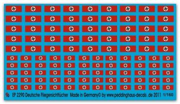 Peddinghaus 2610 1//160 Lazarettzug 655 Beschriftung für den Komplettzug
