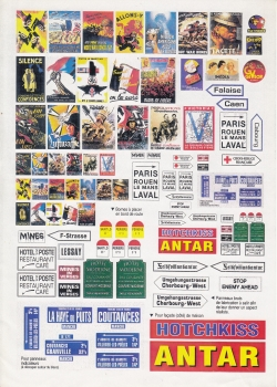 Peddinghaus 1/35 0642  French comercial signs