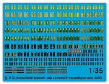 Decals Bundeswehr-Luftwaffe »Flugzeugkennung« 1:48 2904