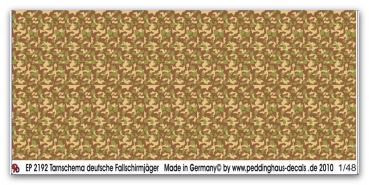 Peddinghaus-Decals 1/48 2192 Camo smoke german Paras