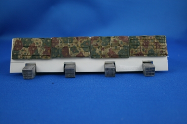 Peddinghaus 1/35 0233  four different Zimmerit Pounches