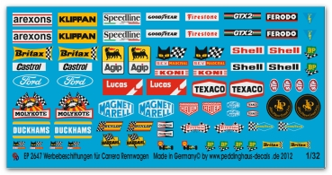 2647 Sponsor pics for Carrera Slotcars