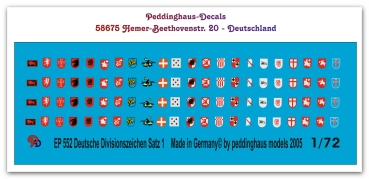 Peddinghaus  1//72 0932 Verkehrszeichen und Straßenschilder