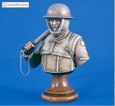 Verlinden VP 1876 British WWI Trench Raider Bust