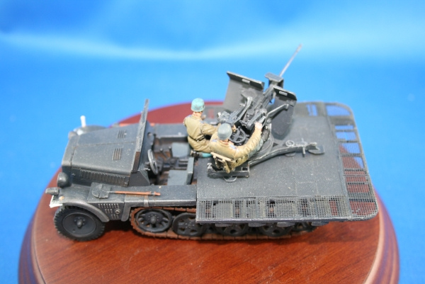 Nordwind 1/48 023 Converset for the 1 ton Demag halftrack into a 2 cm anti aircraft carrier