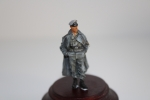Nordwind 1/48 NWW 005 Officier in greycoat and officer cap