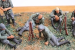 Nordwind 1/48 NWW 014 Soldier resting laying on his right side