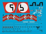 Peddinghaus 1/200 1557 Bismark markings together with 3 Arado floatplanes