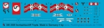 Peddinghaus 1/350 2039  Battleship Tirpitz markings