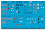Peddinghaus 1/87 2114 German tank markings russia 1943 - 1944