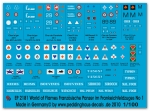 Peddinghaus-Decals 1/100 2181 World of Flames French tanks early war