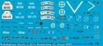 Peddinghaus-Decals 1:9   2913 Markings for the Zündapp Bike from Revell