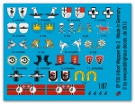 german submarine heraldic, unit markings and flags No 2